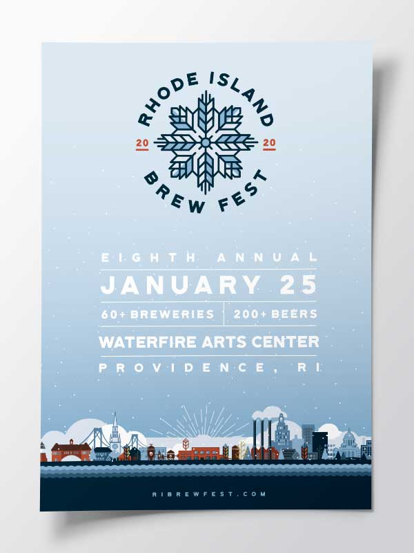RI Brew Fest: Branding and Poster